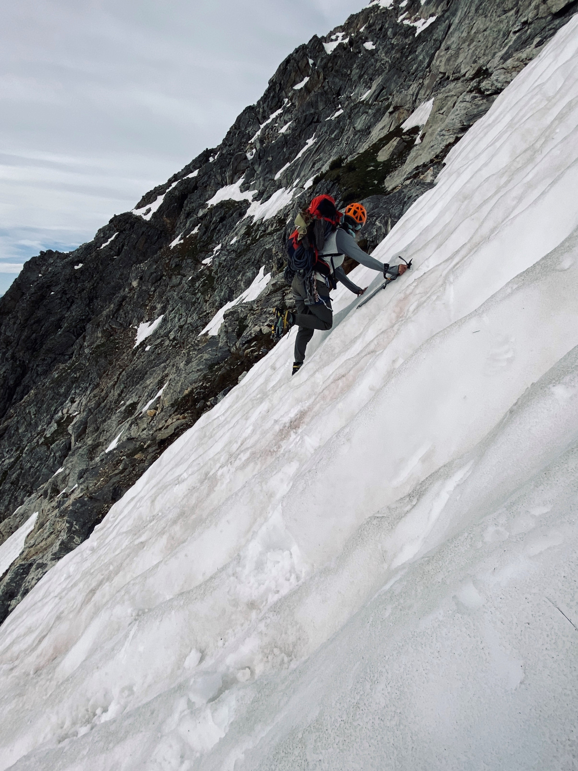 Snow Climbing