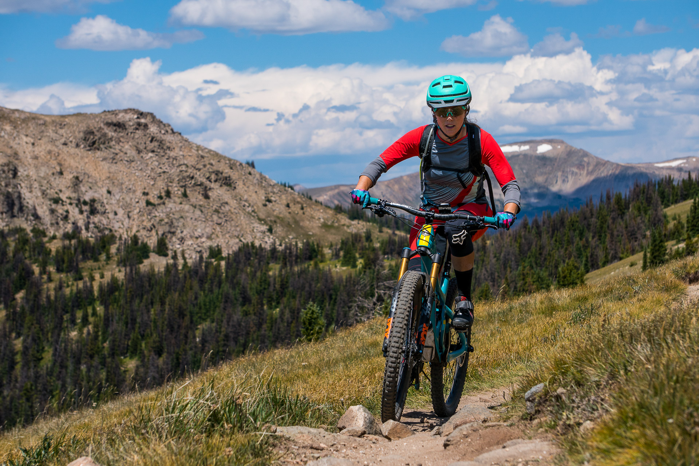 Telluride, CO Mountain biking singletrack