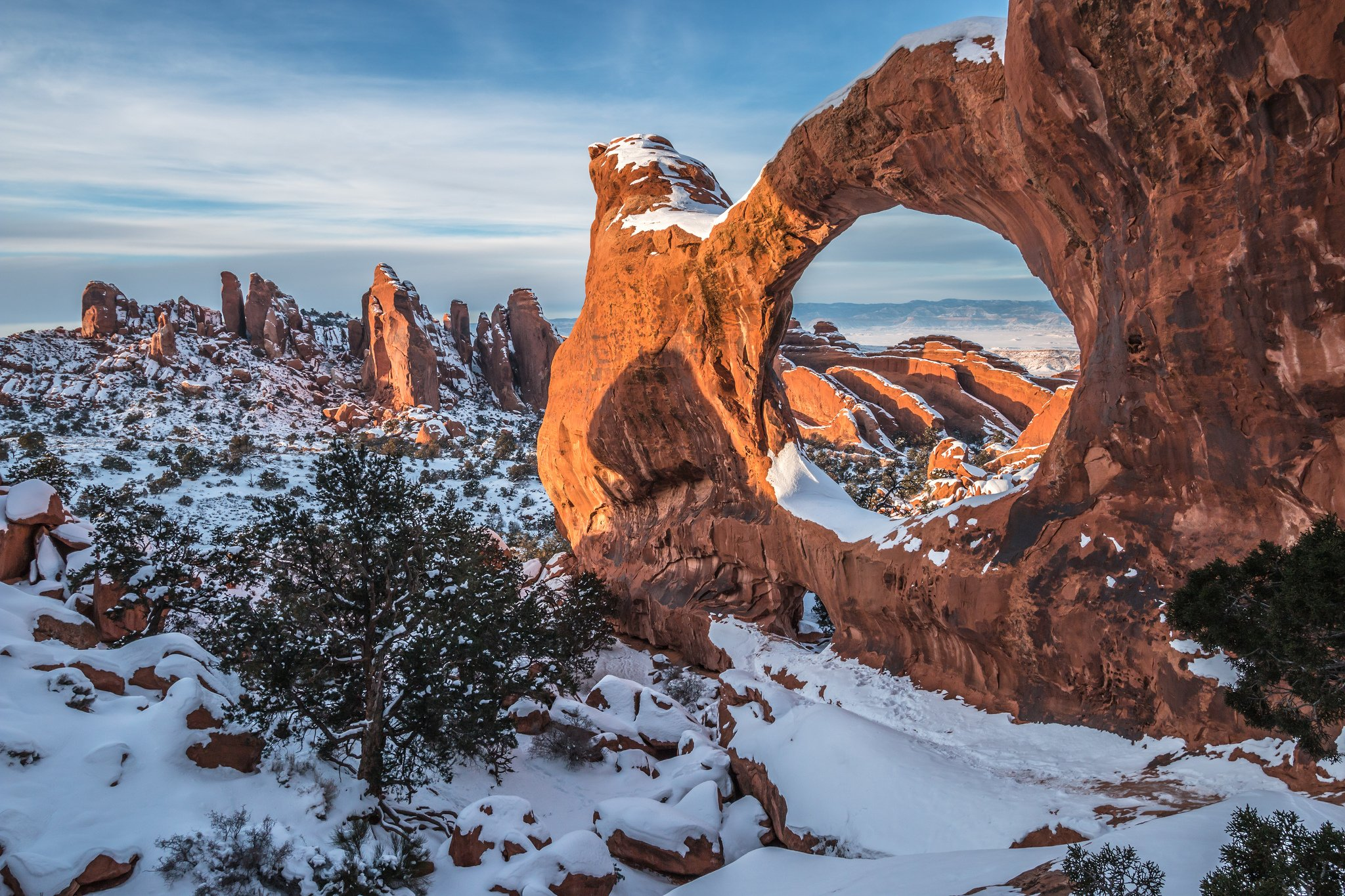 5 Best Winter Hikes in Arches National Park